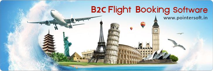 B2C Flight Booking Software - B2C Air Booking Software - B2C Flight