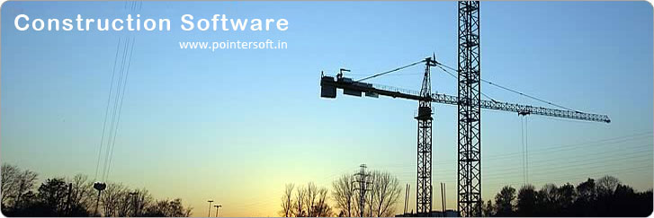 Construction Software - Construction Computer Software - Construction Software Delhi - Construction Software Company India - Construction Management Software